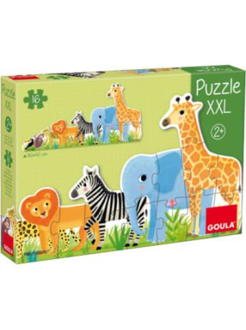 Goula XXL-Puzzle 16 Teile - Dschungel