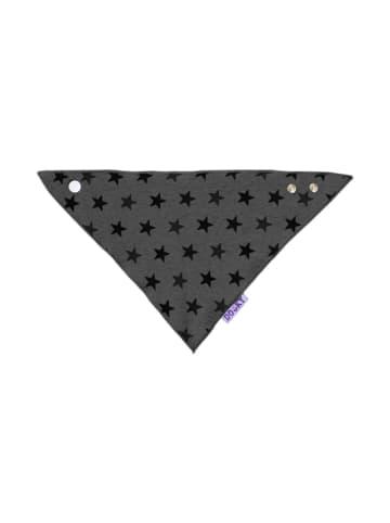 Dooky Baby Lätzchen / Graue Sterne in grau