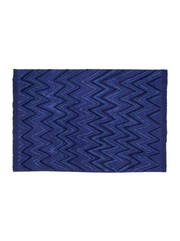 "Lorena Canals Teppich  ""Earth Alaska Blue"" in Blau - 170x240 cm"