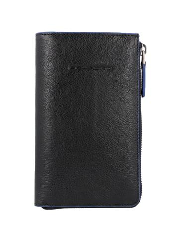 Piquadro B2S Geldbörse RFID Leder 10 cm in black