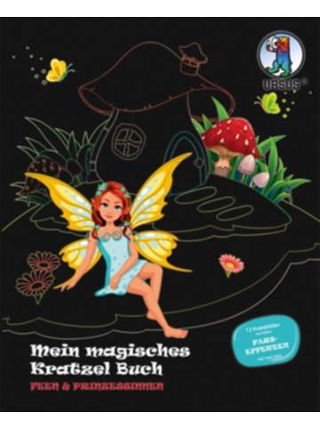 """URSUS Mein Magisches Kratzel Buch """"Feen & Prinzessinnen"""""""