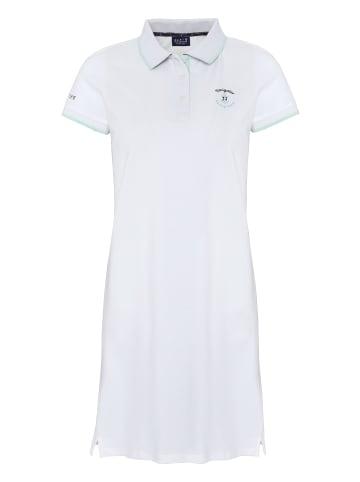 Navigator Polokleid in Bright White