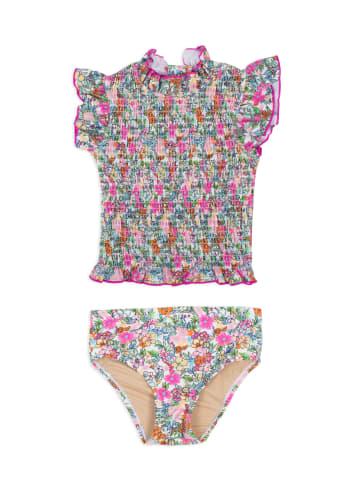 "Shade Critters Kinder Badeanzug Bikini zweiteilig ""smock Lib Floral"" in bunt"