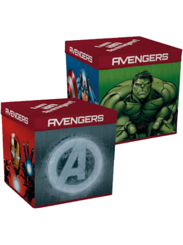 MARVEL Avengers Faltbox Marvel Avengers, 30 x 30 cm