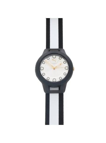 """Puma Time Damenuhr """"Puma P1022"""" in weiß und silber und schwarz"""