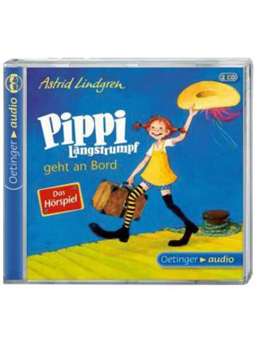 Pippi Langstrumpf Pippi Langstrumpf geht an Bord, 2 Audio-CDs