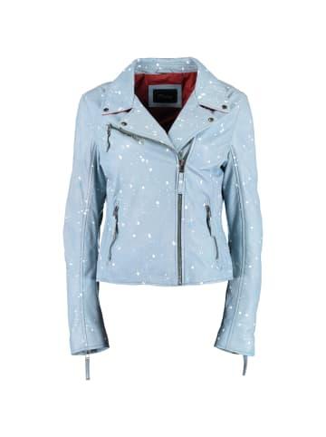 Donders DNR Jackets Lederjacke in blau