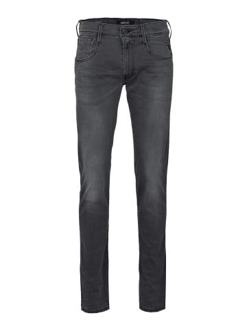 Replay Stretch-Jeans 11.5 Oz Hyperflex Black Stretch in grau