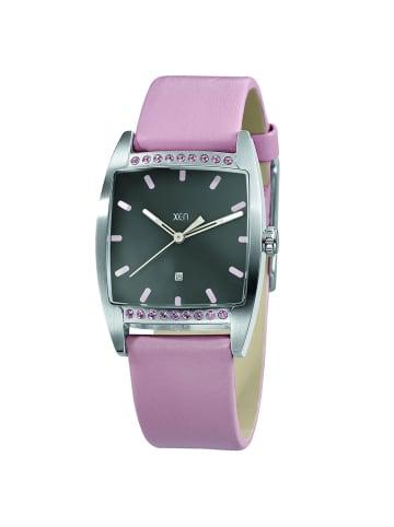 """Xen Uhr """"XQ0233"""" in pink und grau"""