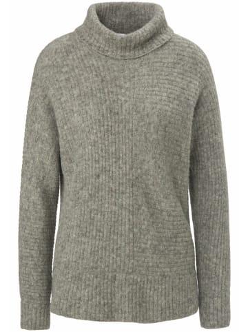 PETER HAHN Pullover wool in grau-melange