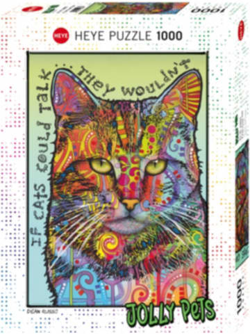 Heye Kalender Puzzle If Cats Could Talk, 1000 Teile