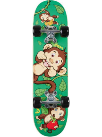 FUN4U Skateboard lustiges Äffchen, 15x61 cm