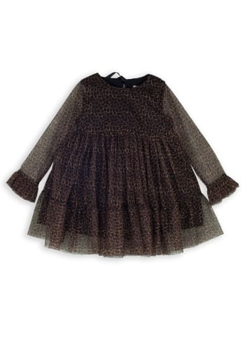 Mamino Kindermode Mädchen Kleid in leopard
