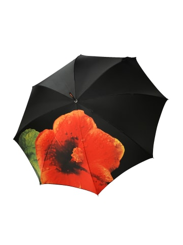 Doppler Manufaktur Elegance Noblesse Stockschirm 90 cm in hibiscus orange