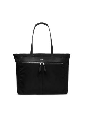 Knomo Mayfair Grosvenor Place L Shopper Tasche RFID 48 cm Laptopfach in black-silver