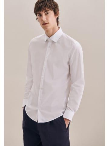 Seidensticker Business Hemd Slim in Weiß