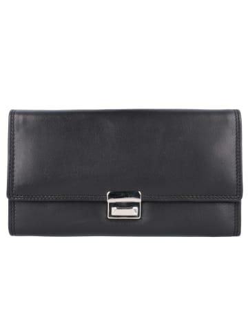 Esquire Eco Kellnerbörse Leder 17,8 cm in eco schwarz