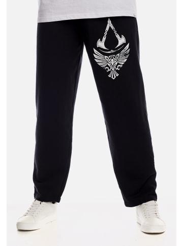 Ubisoft Jogginghose Assassins Creed Valhalla Raven & Symbol in schwarz