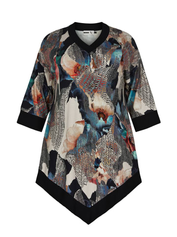 Studio kurzes Shirtkleid Frida in multi printed