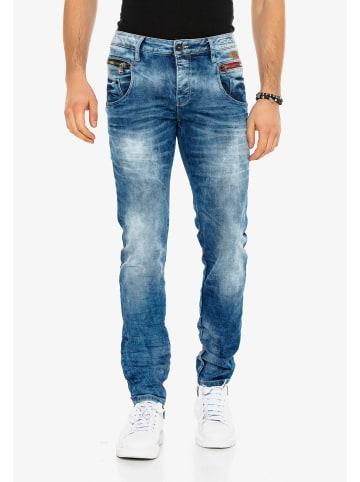 Cipo & Baxx Jeanshose in Blue