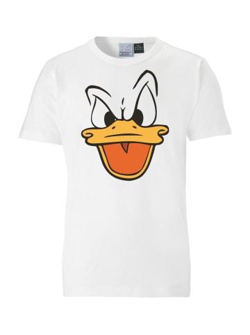 Logoshirt T-Shirt Donald Duck in altweiss