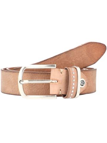 B.belt Fashion Basics Cleo Gürtel Leder in beige