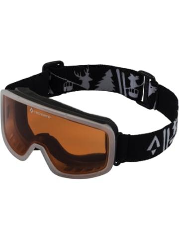 Tecnopro Skibrille Mistral, schwarz