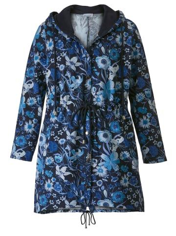 Angel of Style by HAPPYsize Sweatjacke in marineblau-blau