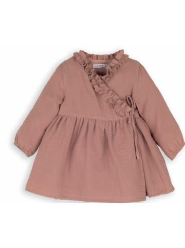 Mamino Kindermode Mädchen Kleid in braun