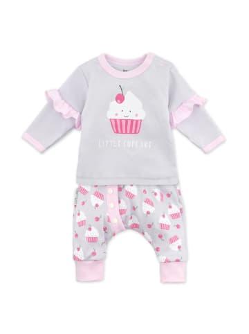 Baby Sweets 2tlg Set Shirt + Hose Little Cupcake in bunt