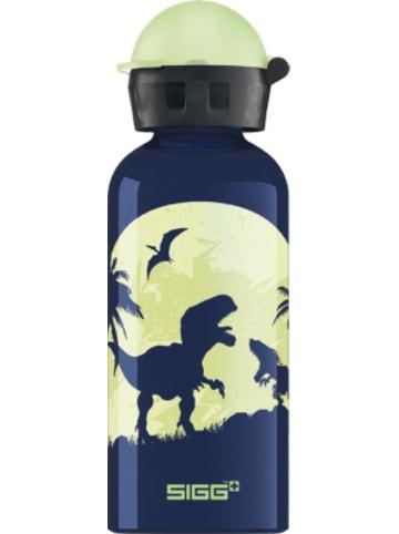 SIGG Alu-Trinkflasche GLOW IN THE DARK Moon Dinos, 400 ml