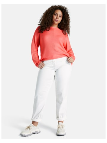 SAMOON Hose Jeans lang in Weiss