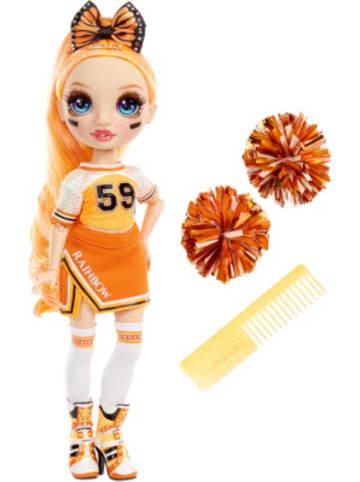 MGA Rainbow High Cheer Doll - Poppy Rowan (Orange)