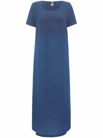 ANNA AURA Abendkleid Kleid mit 1/2-Arm in meerblau