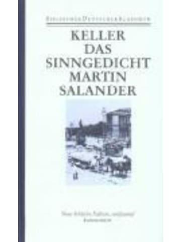 Deutscher Kanuverband Sieben Legenden. Das Sinngedicht. Martin Salander | Band 6: Sieben Legenden....