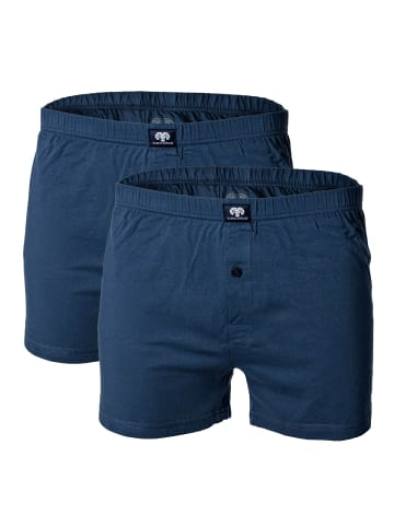 CECEBA Short 2er Pack in Blau