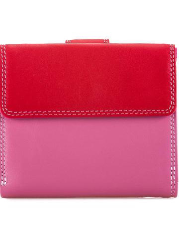 MYWALIT Tab and Flap Wallet Geldbörse Leder 10 cm in ruby
