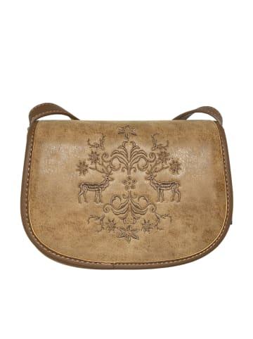 Lady Edelweiss Trachtentasche 17802 braun