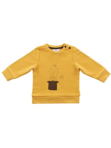 Jollein Baby Sweatshirt Circus, senfgelb, Gr. 62/68