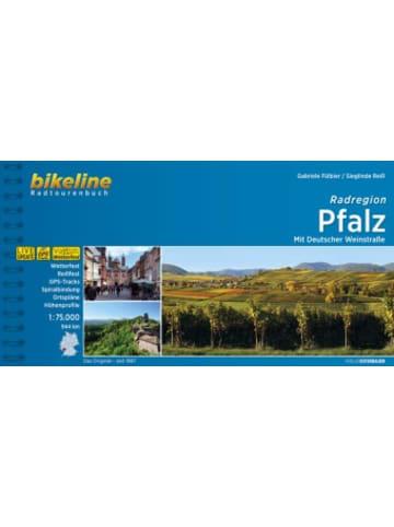 Esterbauer Bikeline Radtourenbuch Radregion Pfalz