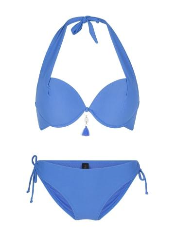 Linga Dore Halterneck bikiniset ZIA in Blau