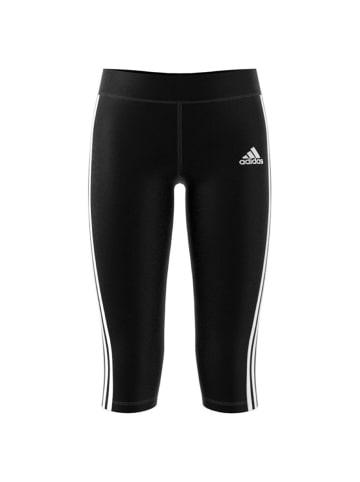Adidas Performance Leggings YG GU 3/4 TIGHT in Schwarz