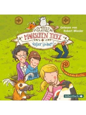 Silberfisch Die Schule der magischen Tiere - Voller Löcher!, 2 Audio-CDs