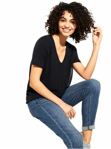 Comma T-Shirts in marineblau
