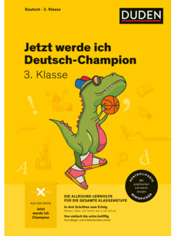 Bibliographisches Institut Jetzt werde ich Deutsch-Champion - Deutsch 3. Klasse