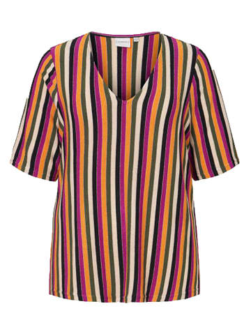 JUNAROSE Kurzarm-Shirt in Mehrfarbig