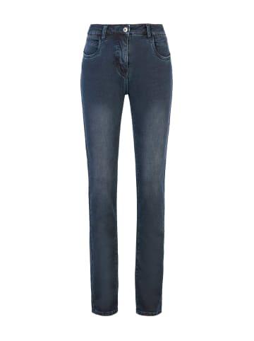 Million X - Women Damen Jeans Victoria supersoft in blue gray