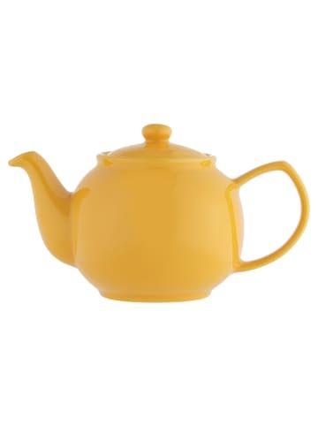 Price&Kensington Teekanne, brilliante Farben, senfgelb 6 Tassen