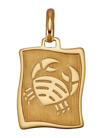 Diemer Gold Sternzeichen-Anhänger 'Krebs' in Gelbgoldfarben