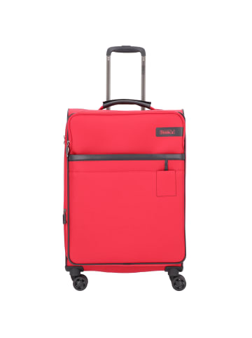 Stratic Light 4-Rollen Trolley 68 cm in red